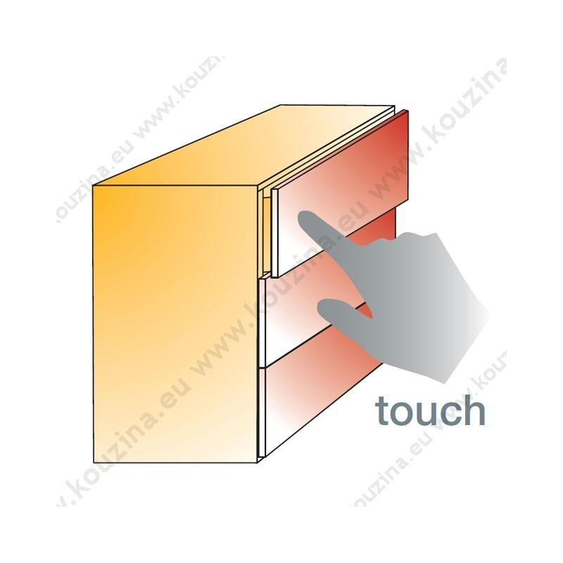 Titus Touch Latch - More info